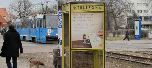 Breslau, Telefonzelle