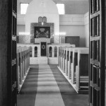 Erfurt, Neue Synagoge, Innenansicht, 1960 (Foto: Wittig, Bild: Bundesarchiv Bild 183-71405-0002, CC-BY-SA 3.0)