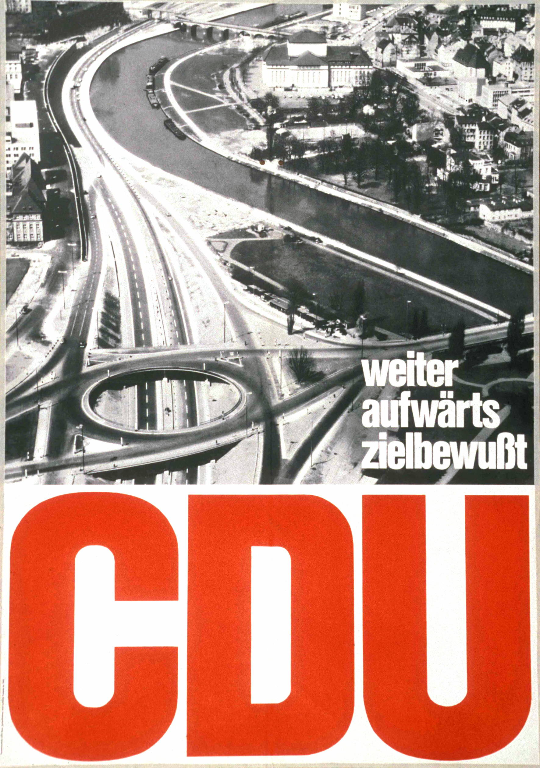 CDU-Wahlkampfplakat (Bild: Konrad-Adenauer-Stiftung, CC BY SA 3.0)