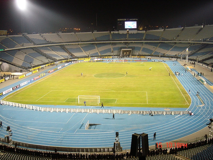Kairo, International Stadium (Bild: Realman208, CC BY SA 3.0)
