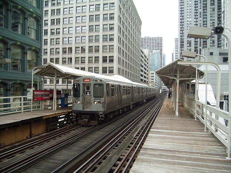 Chicago, Hochbahn (Bild: Nikolaus Bernau)