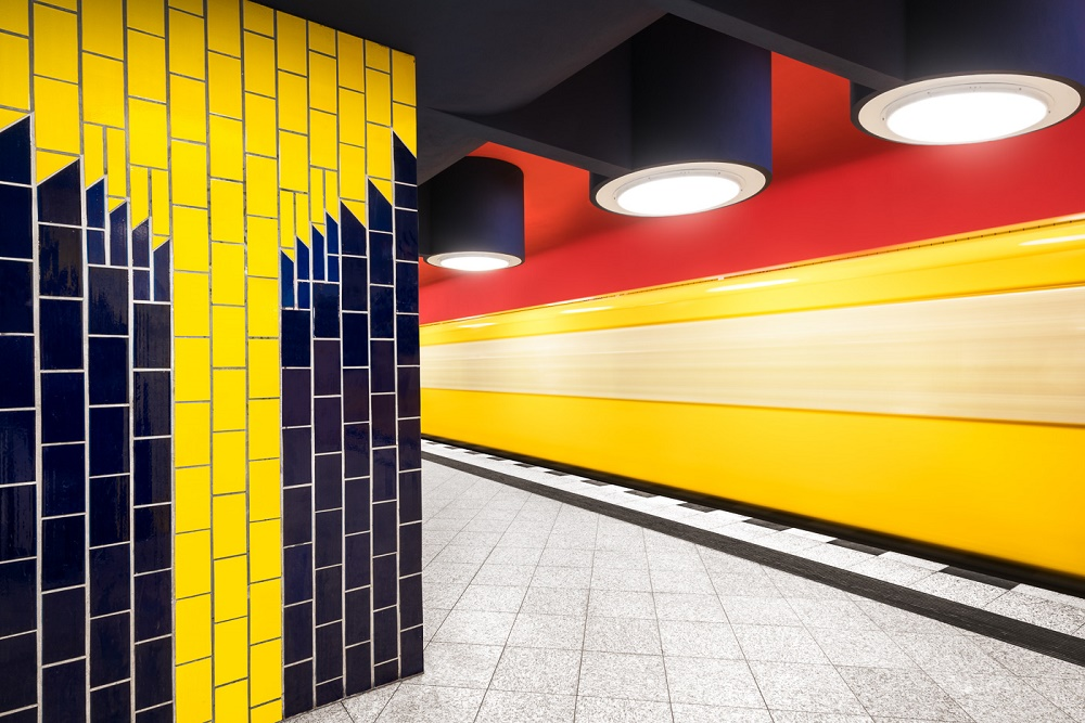 "Chris M Forsyth, Berlin, U-Bahnhof ""Richard-Wagner-Platz"" 2016 (Bild: Berlinische Galerie, © Chris M Forsyth)"