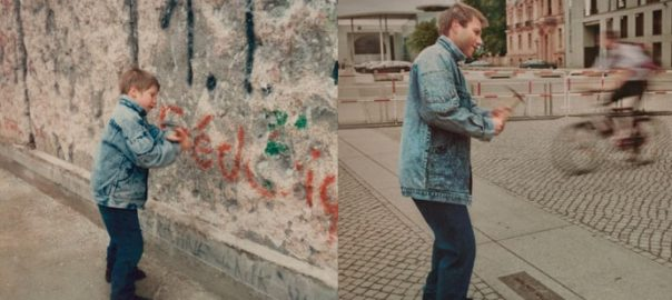Irina Werning: Christoph 1990 & 2011 Berlin Wall (Foto: © irinawerning.com)