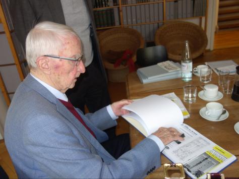 Claus Möckel im saai in Karlsruhe (Bild: Arbeitsgemeinschaft Karlsruher Stadtbild)