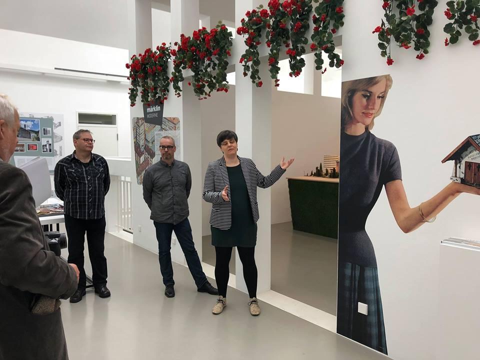 """Frankfurt, """"märklinMODERNE"""" startet im Deutschen Architekturmuseum (Foto: privat)"""