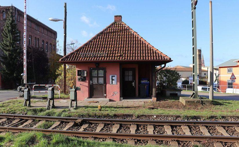 Das Bahnwärterhaus hat Pause