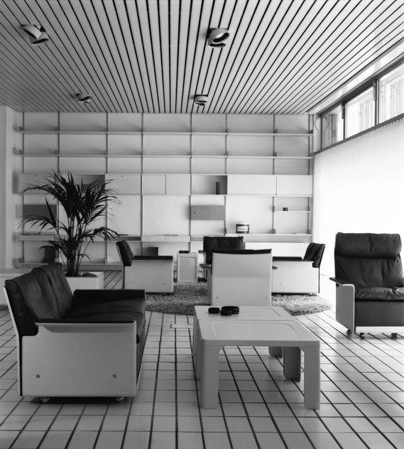 Der Vitsoe-Showroom in Frankfurt, ca. 1971 (Foto: Ingeborg Kracht Rams)