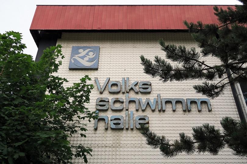 Dessau, Volksschwimmhalle (Bild: Martin Maleschka)