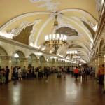 """Moskau, Metrostation """"Komsomolskaja (Bild: Lite)"""