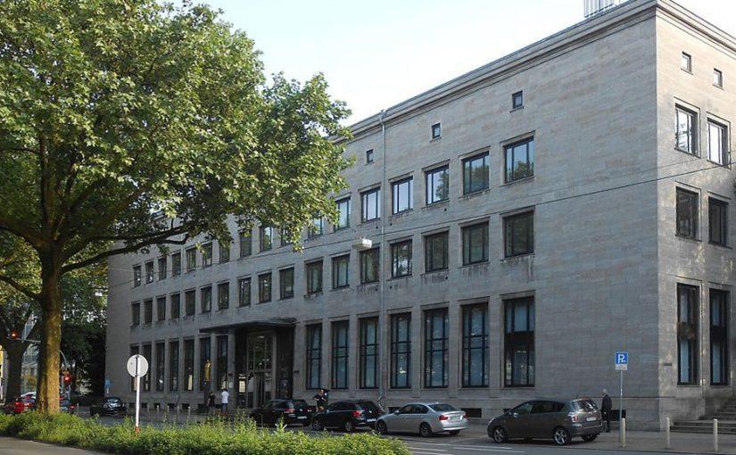Schutz für die Bundesbank-Filliale