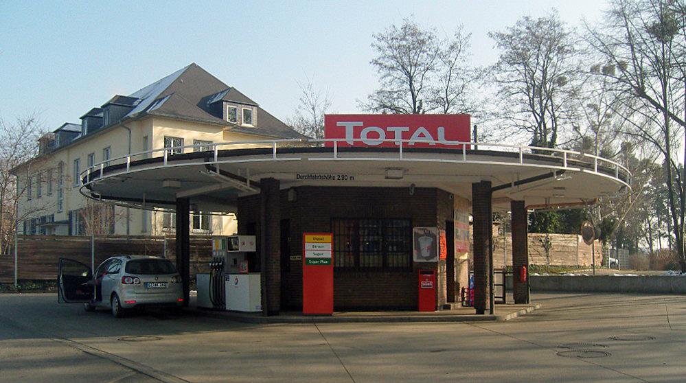Dresden, Total-Tankstelle (Bild: Z-thomas, CC BY 3.0)