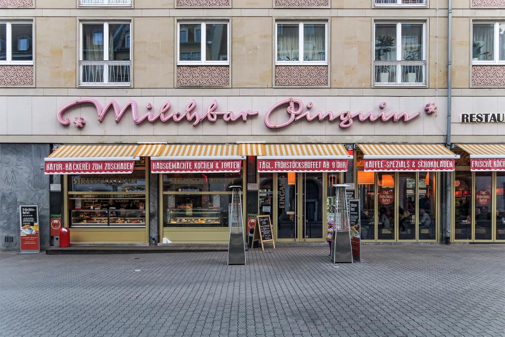 Dresden, Milchbar Pinguin (Bild: Martin Maleschka)