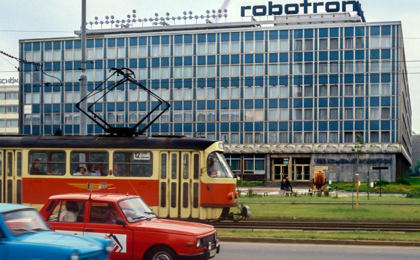 Dresden, VEB Kombinat Robotron 1990 (Bild: Ncarste, CC BY-SA 4.0)