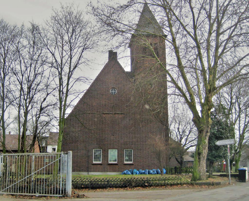 Duisburg-Essenberg, Ev. Kirche (Bild: Der Schatten, via mapio.de)