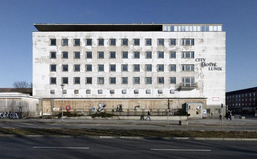 Eisenhüttenstadt, ehem. Hotel Lunik (Bild: Martin Maleschka)