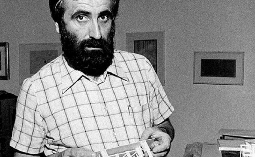 Enzo Mari 1974, Adriano Alecchi (Mondadori Publishers, http://www.gettyimages.co.uk/search/2/image?phrase=Enzo%20Mari%20mondadori&family=editorial&sort=best&page=1&excludenudity=fals, CC0)
