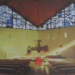 Erbach im Taunus, St. Mauritius (H. W. Peuser, 1970) (Bild: Archiv H. W. Peuser, um 1970)