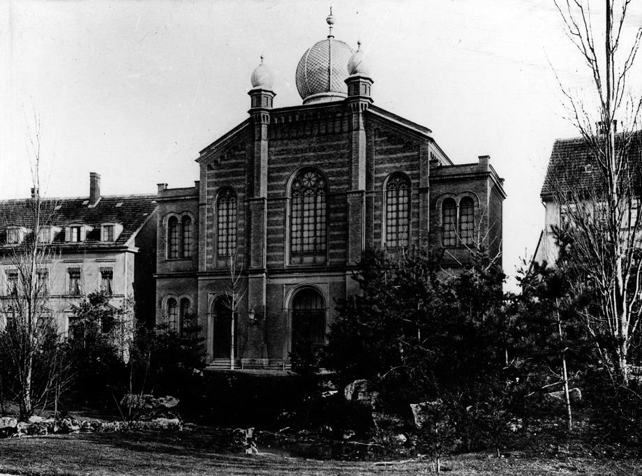 Erfurt, Große  Synagoge, um 1900 (Bild: Stadtarchiv Erfurt)