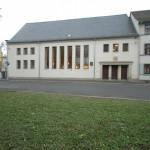 Erfurt, Neue Synagoge, Straßenseite (Bild: U. Knufinke)
