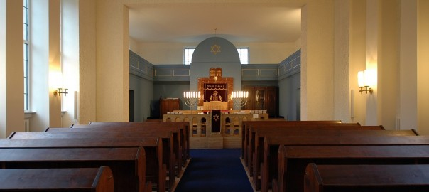Erfurt, Neue Synagoge, Innenraum (Bild: U. Knufinke)
