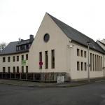 Erfurt, Neue Synagoge, Außenbau zur Kreuzung (Bild: U. Knufinke)