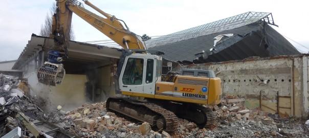 Steigerwaldstadion: Abriss beginnt
