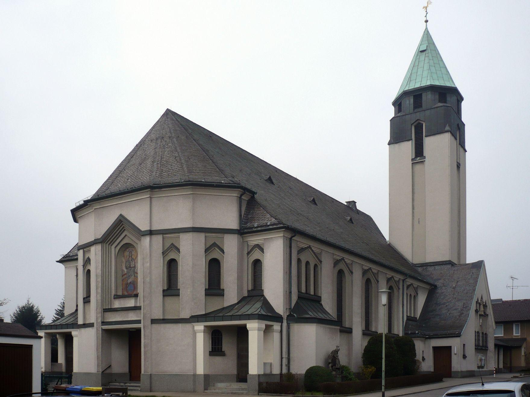 Essen-Schönbeck, St. Antonius-Abbas (Bild: wiki05, gemeinfrei, 2008)