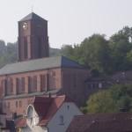 Esslingen, Südkirche, 1926 (Bild: Igelball, GFDL oder CC-BY-SA 3.0)