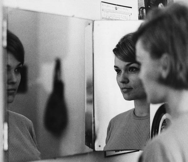 Eva-Maria Hagen, Berlin, ca. 1965 (Bild: © Roger Melis Nachlass)