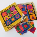 Die Farbgestaltung als Spielfeld: Farben und Formen, ca. 1970 (Bild: Uta Winterhager)