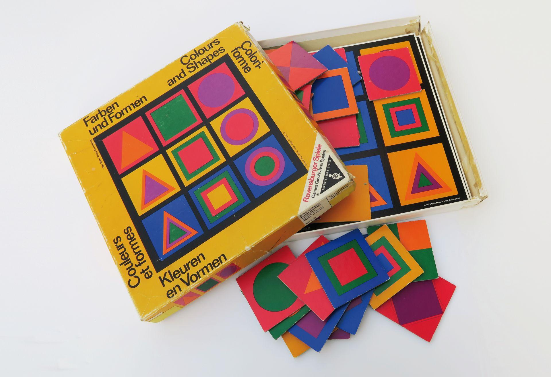 Die Farbgestaltung als Spielfeld: Farben und Formen, ca. 1970 (Bild ...