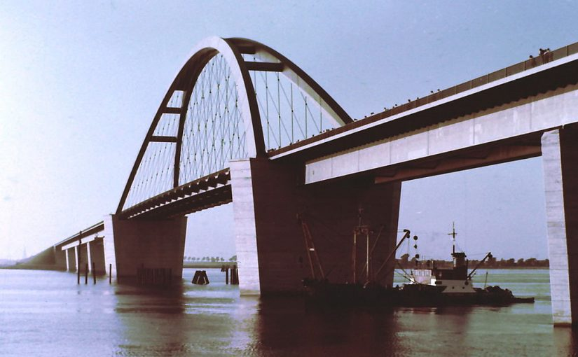 Fehmarnsundbrücke (Bild: Manfred Kopka, CC BY SA 4.0, 1975)