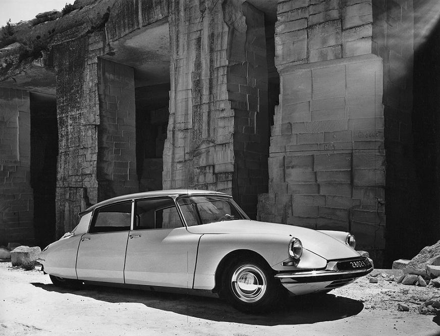 Flaminio Bertoni: die Citroën DS aus dem Jahr 1959 (Bild: historisches Werksfoto)