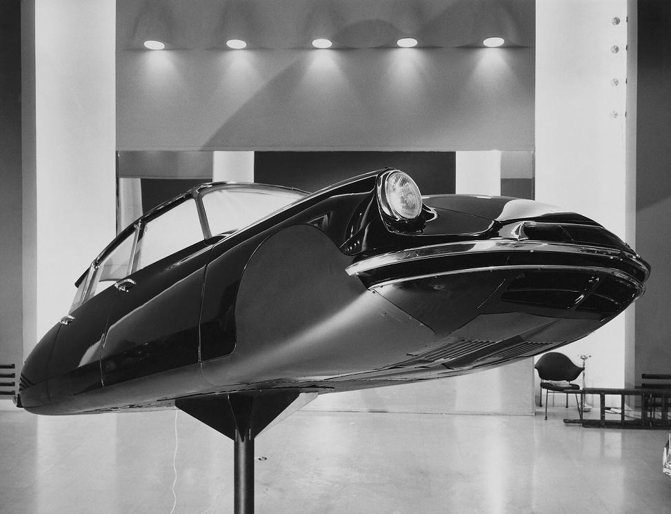 Flaminio Bertoni: Plastik einer Citroën DS aus dem Jahr 1959 (Bild: historisches Werksfoto)