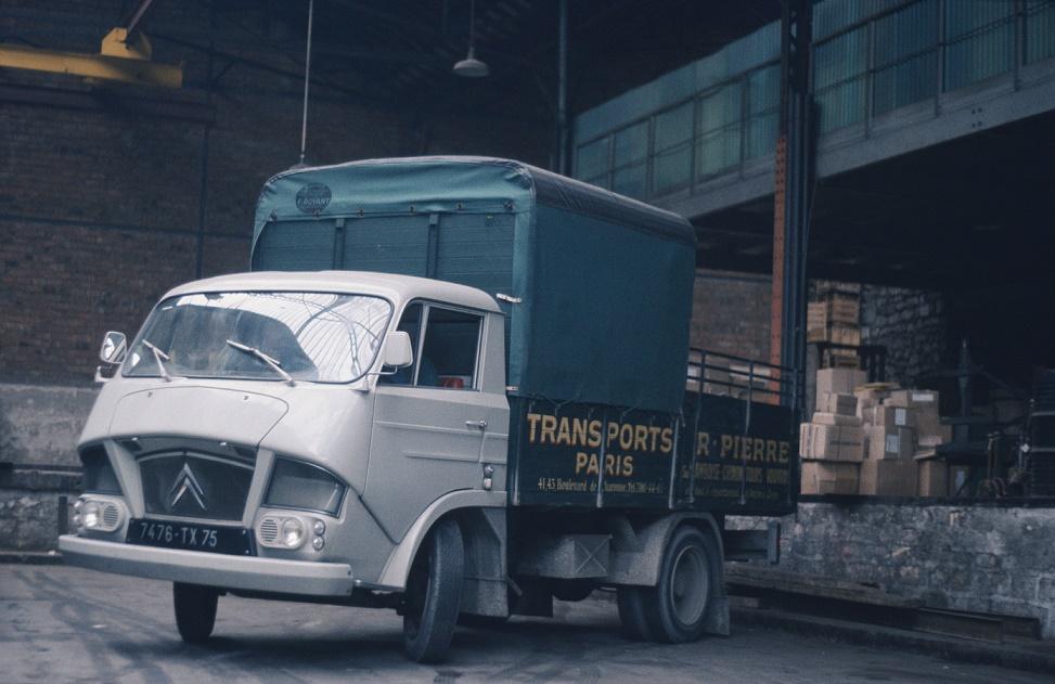 Flaminio Bertoni: der Citroën Camion 350-850 aus dem Jahr 1965 (Bild: historisches Werksfoto)