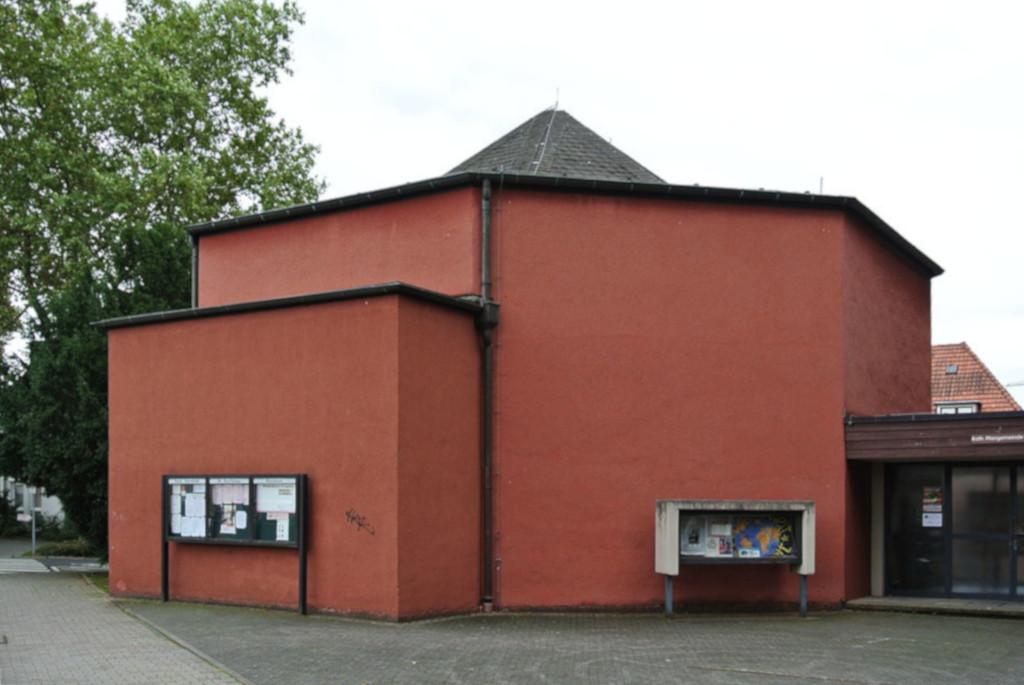 Frankfurt-Bonames, Bonifatiuskapelle (Bild: Gaki64, CC BY SA 3.0, 2013)
