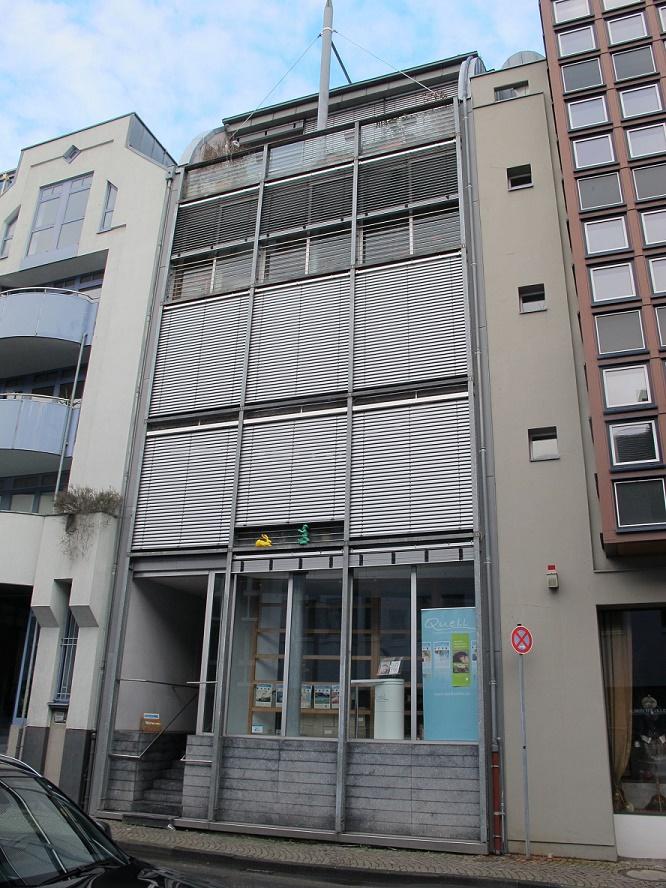 Frankfurt/Main, Saalgasse 12, Architekten Eisele + Fritz, Darmstadt (Bild: Daniel Bartetzko)
