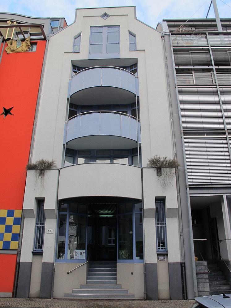 Frankfurt/Main, Saalgasse 14, Architekten Unglaub & Horvarth, Frankfurt/Main (Bild: Daniel Bartetzko)