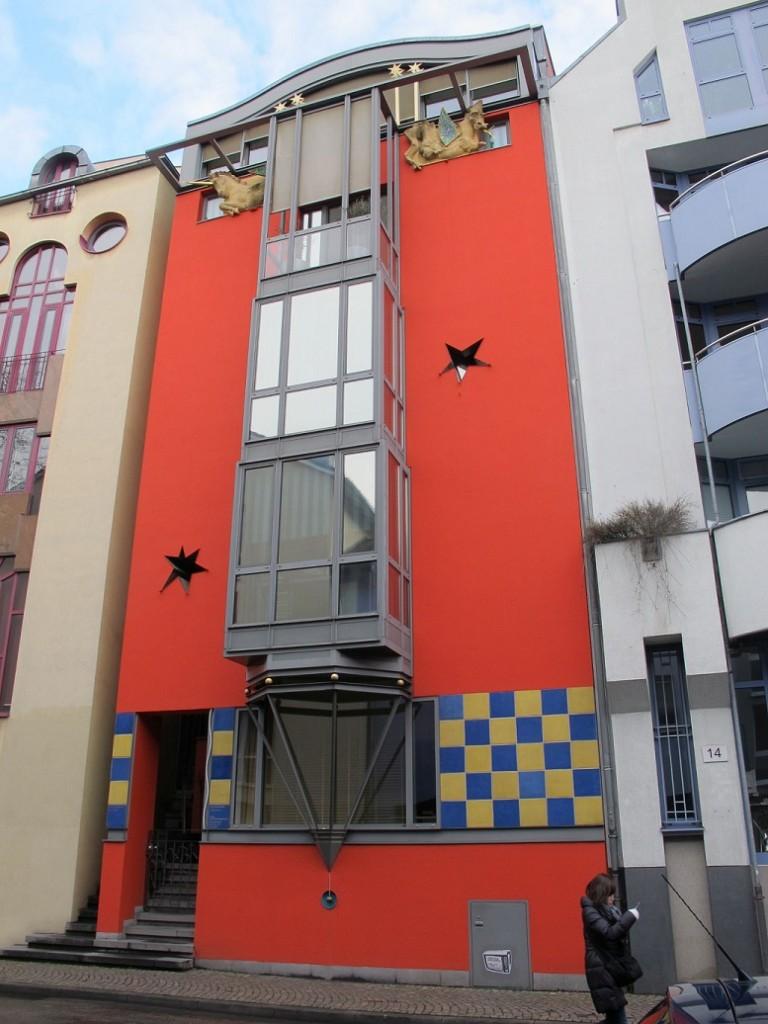 Frankfurt/Main, Saalgasse 16, Architekten Bergof Landes Rang, Frankfurt/Main (Bild: Daniel Bartetzko)