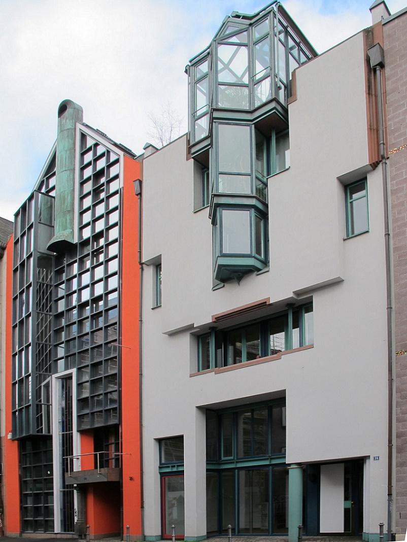 Frankfurt Main Saalgasse 24 Architekten Albrecht Jourdan Muller