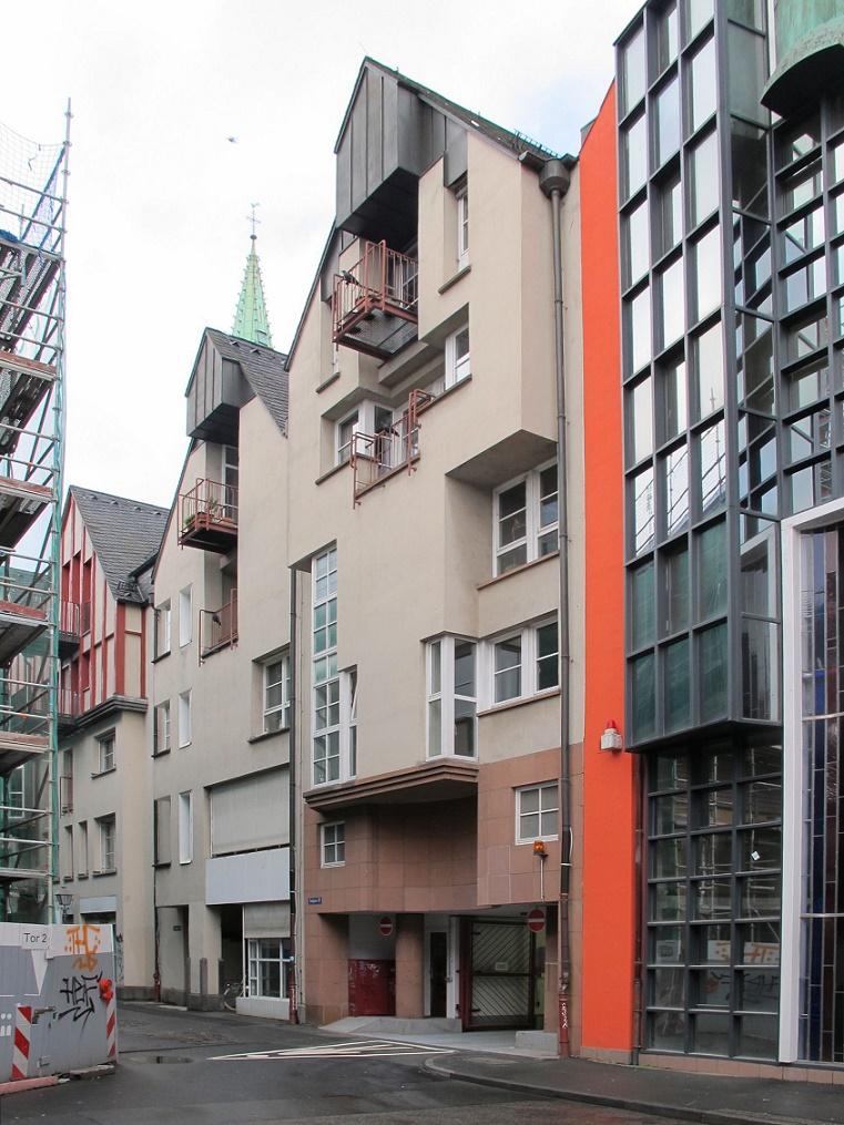 Frankfurt Main Saalgasse 28 Architekten Heinrici Und Geiger