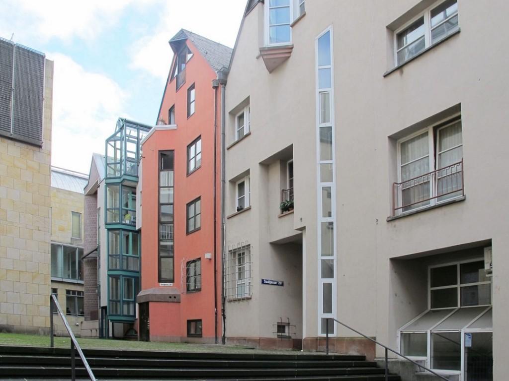 Frankfurt/Main, Saalgasse, Westteil Rückseite (Bild: Daniel Bartetzko)