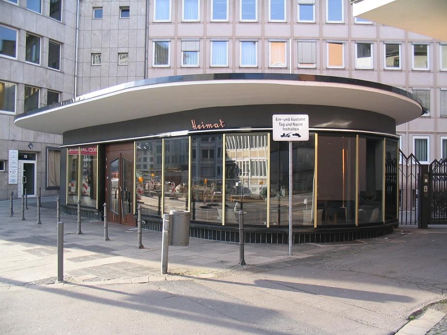 """Wiederhergerichtet: das Frankfurter Café """"Heimat"""" (Bild: Christian Schmidt, Offenbach)"""