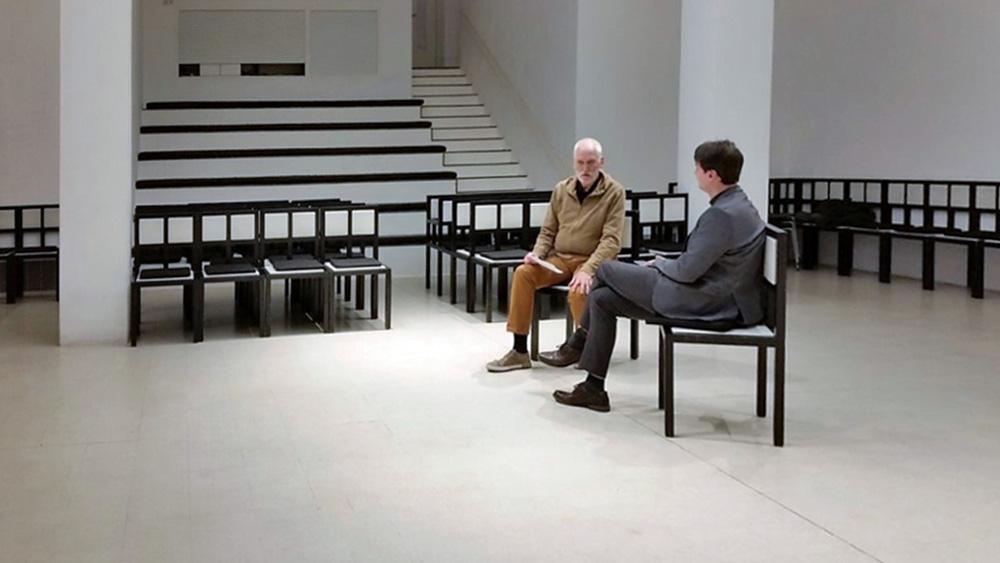 Frankfurt, Deutsches Architekturmuseum (DAM), Auditorium (Bild: Karina Grieshaber)
