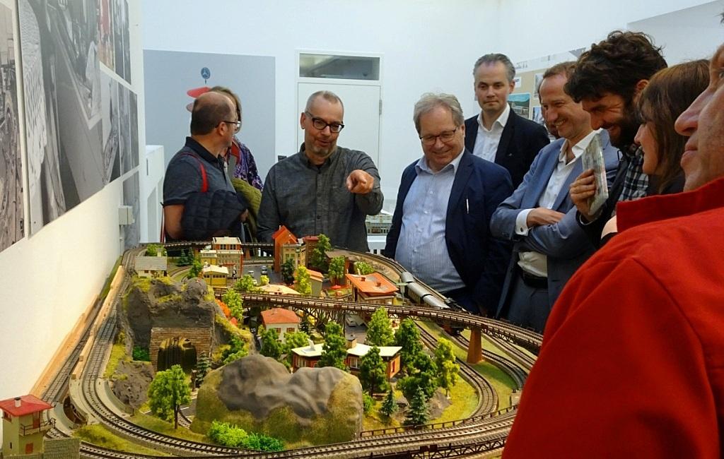 """Frankfurt, """"märklinMODERNE"""" startet im Deutschen Architekturmuseum (Foto: Wolfgang Martin)"""