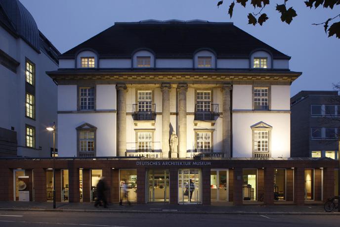 Frankfurt, Deutsches Architekturmuseum (DAM) (Foto: Ute Detmar)
