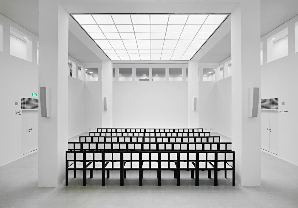 Frankfurt, Deutsches Architekturmuseum (DAM), Auditorium (Foto: Norbert Miguletz)