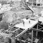 U-Bahn-Bau an der Frankfurter Hauptwache im Jahr 1965 (Bild: Harald-Reportagen, CC BY-SA 3.0)
