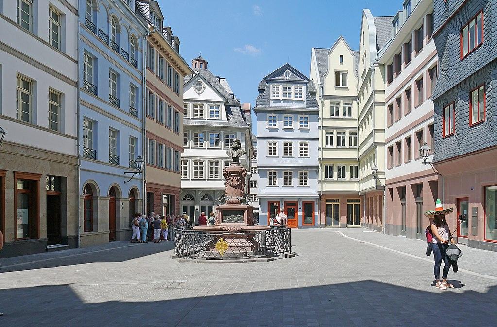 Frankfurt am Main, Neue Altstadt (Bild: Simsalabimbam, CC BY SA 4.0)