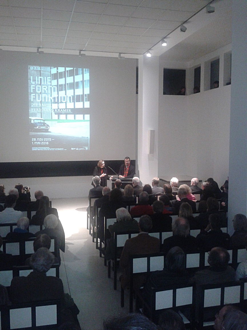 Frankfurt am Main, Deutsches Architekturmuseum, Ausstellung über Ferdinand Kramer (Bild: K. Berkemann)